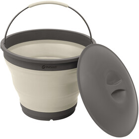 Outwell Collaps jerrycan with Lid grijs/wit